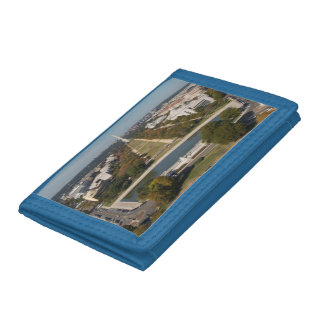 A landscape view of Washington DC Tri-fold Wallets