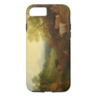 A Landscape with Cattle and Figures by a Stream an iPhone 8/7 Case