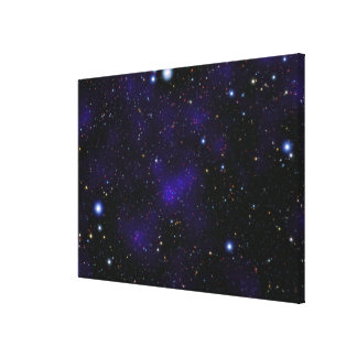 A large collection of galaxies canvas print