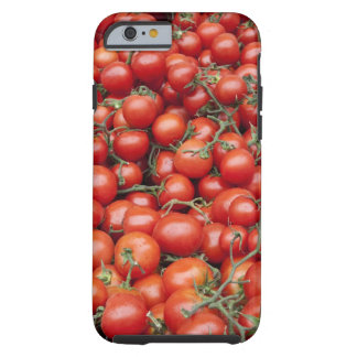 A large crop of tomato on a market stall in tough iPhone 6 case