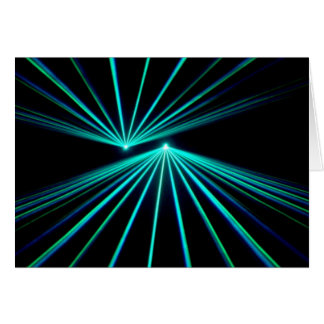 A Laser Show Note Card