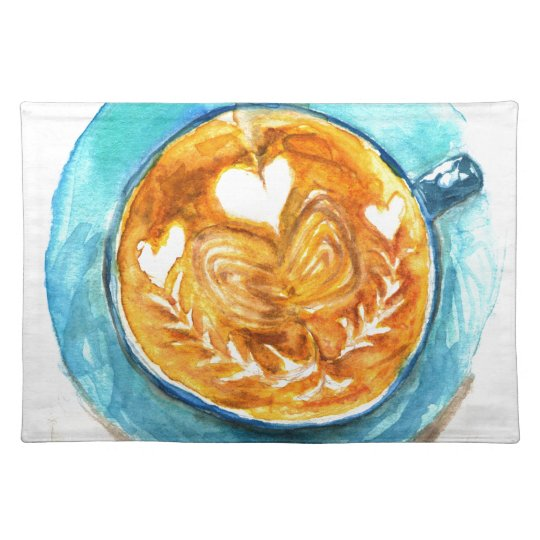 A Latte with Love Place Mat
