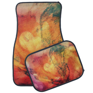 A Leaf In The Wood Autumn Art Abstract Car Mat
