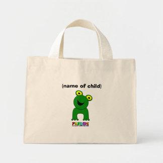 A Leap of Faith Personalised Child s Mini Shopper Tote Bags