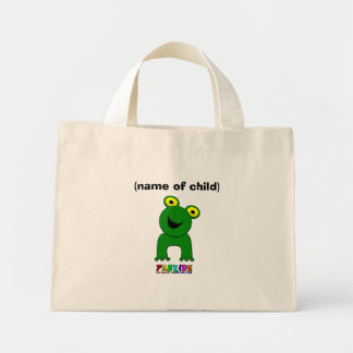 A Leap of Faith Personalised Child's Mini Shopper Mini Tote Bag