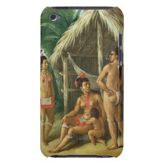 A Leeward Islands Carib Family outside a Hut, c.17 iPod Case-Mate Case