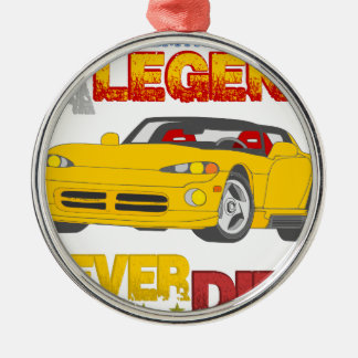 A_Legend_Never_Dies_(VPR) Silver-Colored Round Decoration