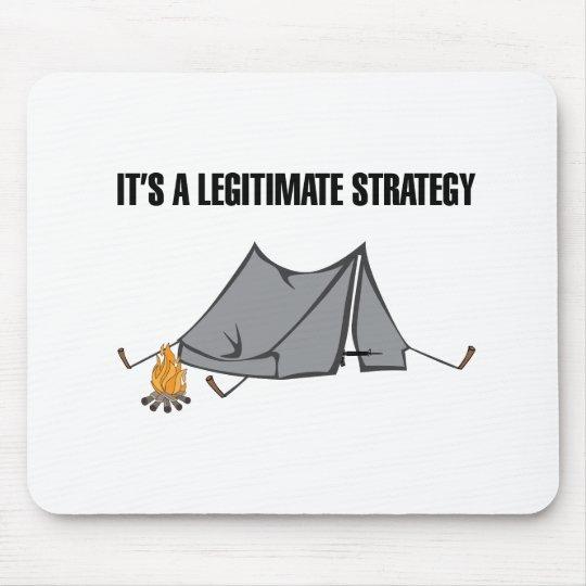 A Legitimate Strategy Mouse Mat