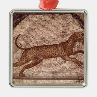A Leopard Christmas Ornament