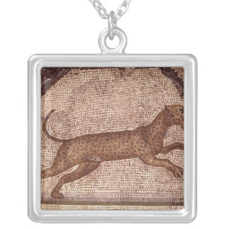 A Leopard Silver Plated Necklace