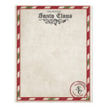 A letter from Santa stationary 11.5 Cm X 14 Cm Flyer