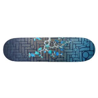 a life less complex (invert) skateboard deck