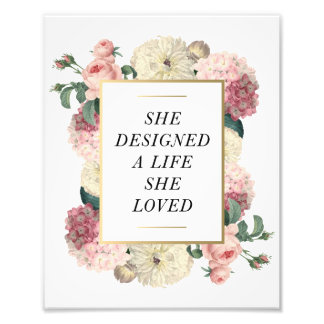 A Life She Loved | Art Print