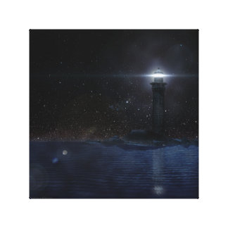A Light Amid Darkness Canvas Print