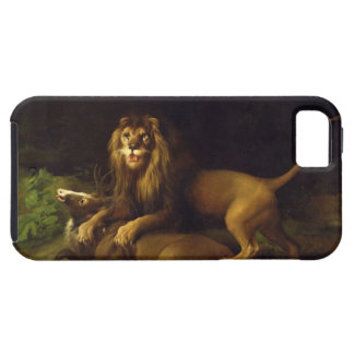 A Lion Attacking a Stag, c.1765 (oil on canvas) iPhone 5 Cases