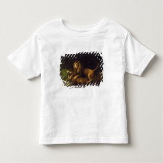 A Lion Attacking a Stag, c.1765 (oil on canvas) Toddler T-Shirt