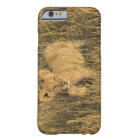 A lion cub laying in the bush in the Maasai Mara Barely There iPhone 6 Case