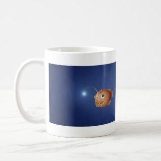 A Little Anglerfish Basic White Mug