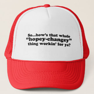 A Little Anti-Obama Humor Trucker Hat