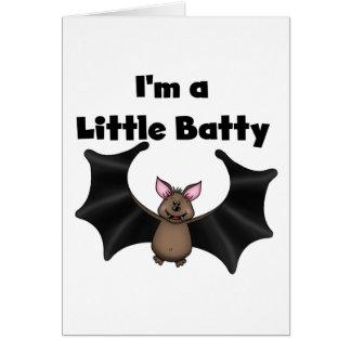 A Little Batty Greeting Card
