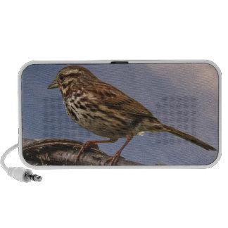 A Little Brown Bird Portable Speaker