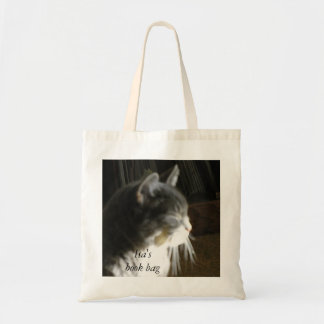 A Little Cat Nap Oil Painting Book Bag Budget Tote Bag