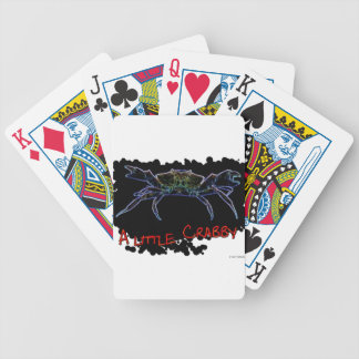 A little Crabby Bicycle Playing Cards