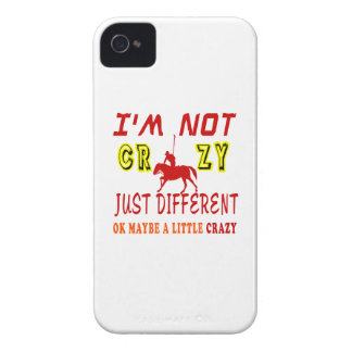 A Little Crazy for Horse Polo iPhone 4 Cover