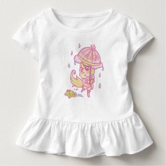 A little fox the rain toddler T-Shirt