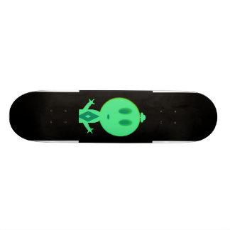 A Little Green Man Skateboard Decks