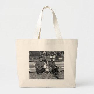 A Little Lower Please 1920s Canvas Bag