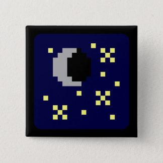 A Little Lunar 15 Cm Square Badge
