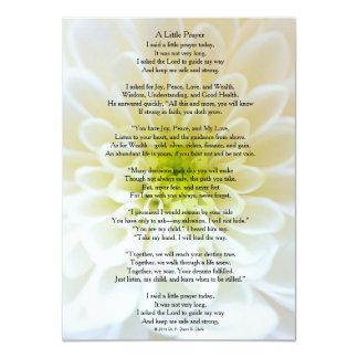 """""""A Little Prayer"""" Matte Card"""