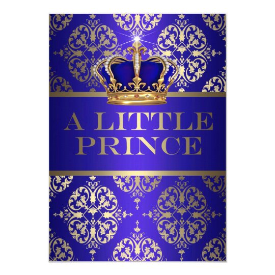 A Little Prince Baby Shower Card