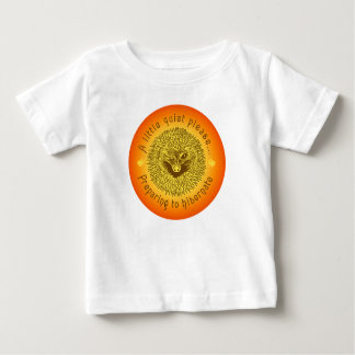 ' A little Quiet...' Baby T-Shirt