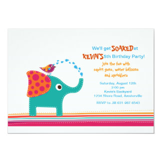 A Little Sprinkle Invitation
