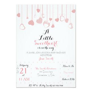 A Little Sweetheart Invitation