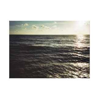 A little swell - Brighton Canvas Print