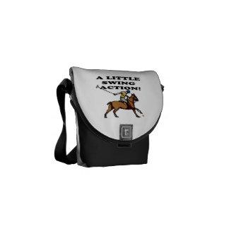 A Little Swing Action Messenger Bag