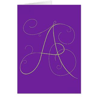 """A""lluring notecard"