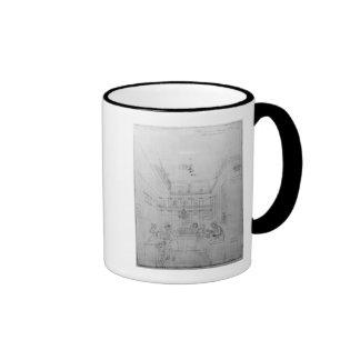 A London Liquor Shop, 1839 Mugs