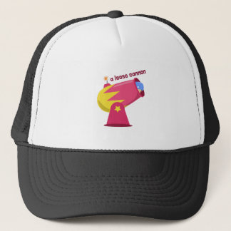 A Loose Cannon Trucker Hat