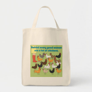 A lot of Chicken Grocery Bag