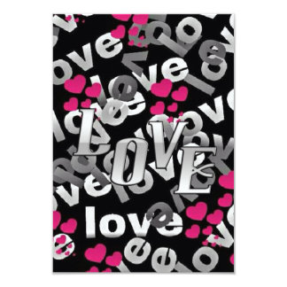 A Lot Of Love Valentine's Day Party Invitations