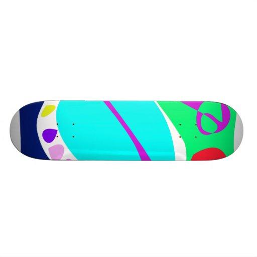 A Lot of Rain Custom Skateboard