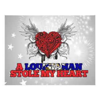 A Louisianan Stole my Heart Flyer