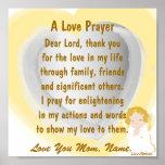 A Love Prayer Poster-Customise