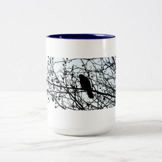 a Love.story: CROWS Two-Tone Coffee Mug