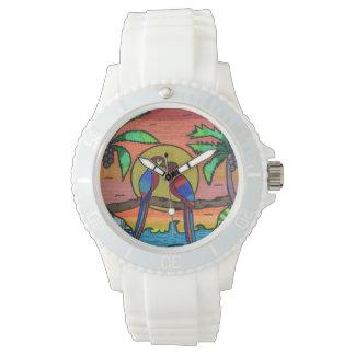 A love story wrist watch