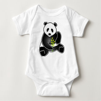 A loveable Panda Baby Bodysuit